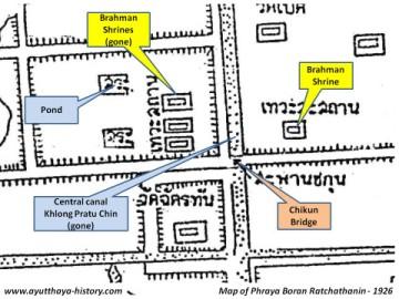History of Ayutthaya - Historical Sites - Thewa Sathan