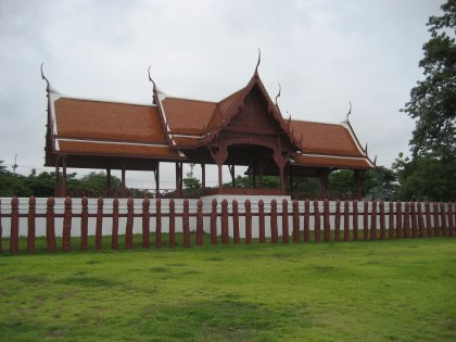 View of the Khocha Prawet Maha Prasat