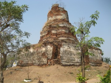 Ruined stupa of Wat Ayodhya