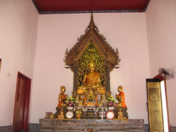 Buddha image in the ubosot