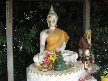 Buddha image in the shrine