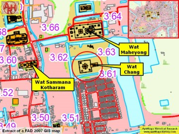 Extract of a 2007 Fine Arts Department GIS map