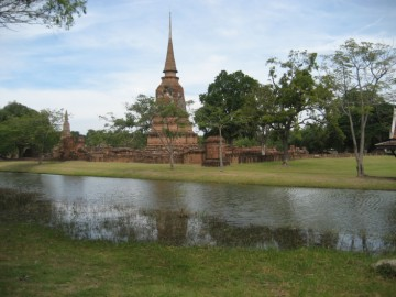 View of Wat Jao Phrap