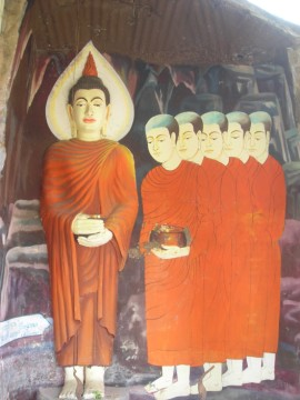 Murals in the ubosot