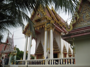 Ordination hall of Wat Khae