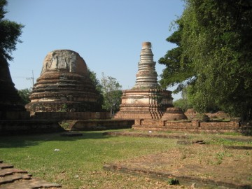 View of chedi in situ