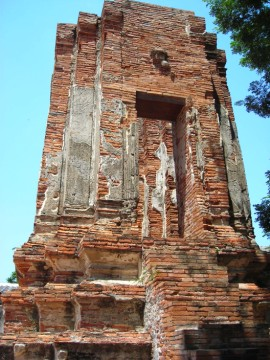 The stupa of Wat Khok Muang