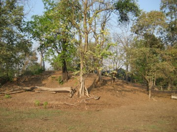 Site view of Wat Khok Sung