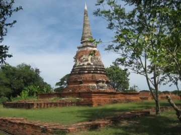 The restored chedi