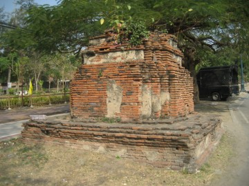 Southern 12-redented stupa on a square base