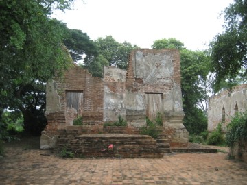 The sermon hall or vihara