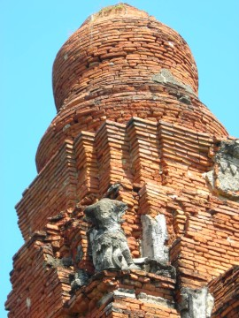 Detail of the chedi