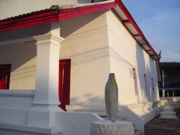 The ordination hall of Wat Ratana Chai