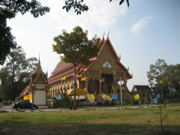 View of Wat Samphao Lom
