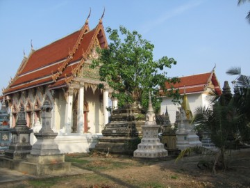 The sermon hall of Wat Sawang Arom