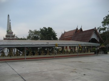 View of the premises of Wat Song Kuson