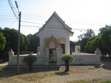 The ordination hall of Wat Sop Sawan
