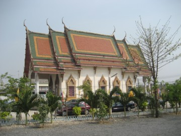 View of Wat Tham Niyom from the south