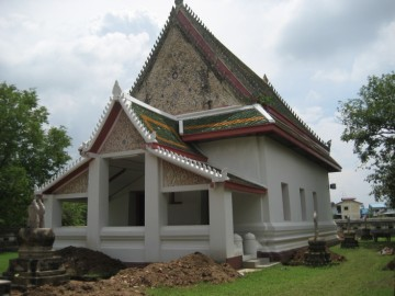 Ordination hall of Wat Thammaram