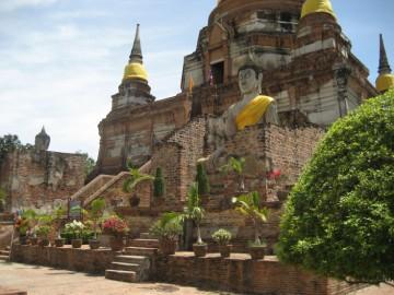History of Ayutthaya - Temples & Ruins - Wat Yai Chai Mongkhon