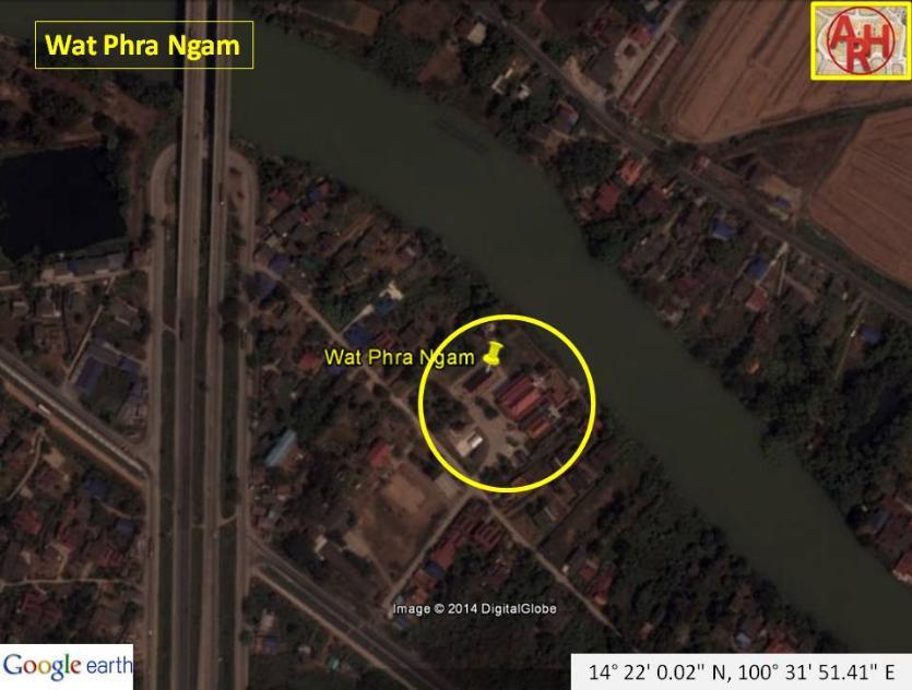 History of Ayutthaya - Temples & Ruins - Wat Phra Ngam 3
